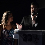 3DFILMUSIC'S MCs Eva García & Daniel Arrébola